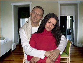 білий анатолій фото з дружиною