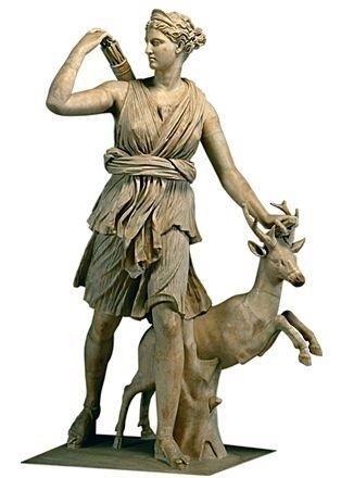 Артеміда богиня полювання