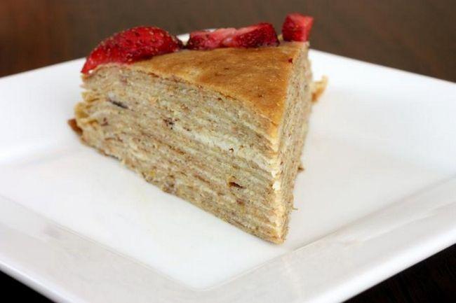 Млинцевий торт з сирним кремом - поєднання традицій і креативності