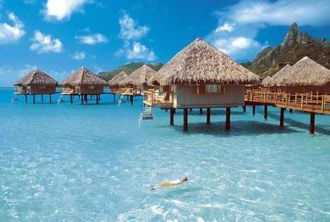 Бора-бора - острова чудової краси