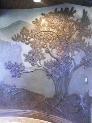 барельєф на стіні