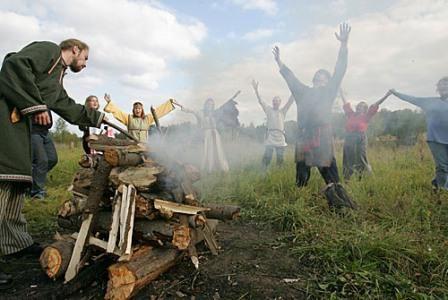 обрядовий фольклор російського народу