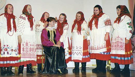 обрядовий народний фольклор