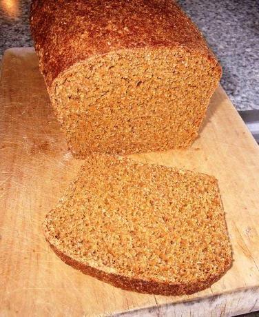 хліб з висівками в хлібопічці