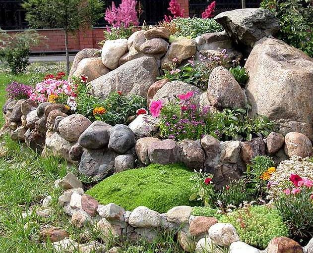 Квіти для альпійської гірки: особливості підбору