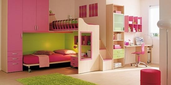 Дитяча кімната для двох дівчаток