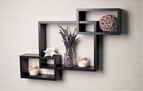Дизайн полиць на стіну