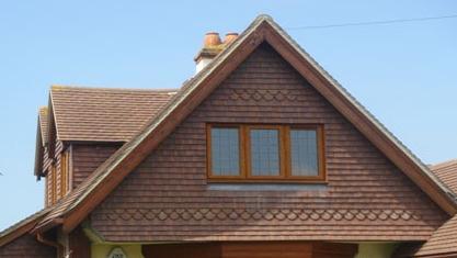 Двосхилий дах як найбільш спрощений варіант покрівлі