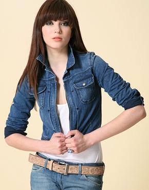 Джинсові піджаки - універсальна мода