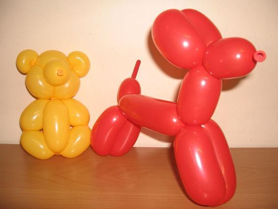 Фігурки з повітряних кульок своїми руками