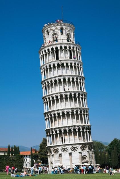 Де знаходиться пізанська вежа - відповідь в її назві, але багато хто цього не знають