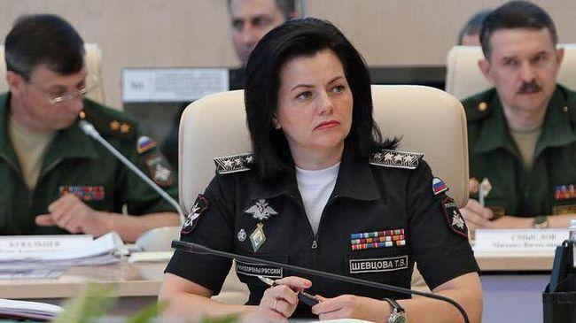 генерал армії Шевцова татьяна викторовна