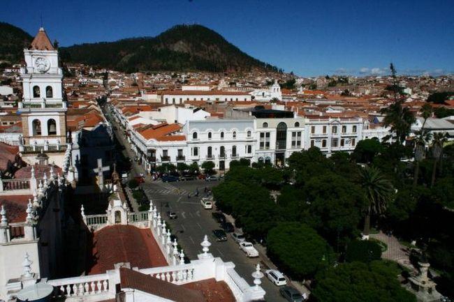 Місто сукре - столиця болівії