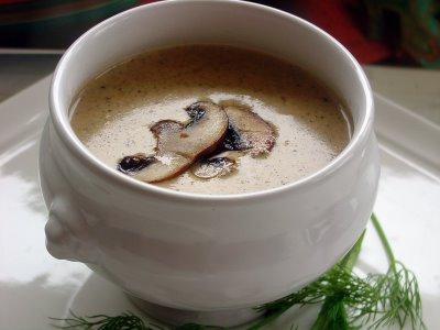 Грибний суп пюре з печериць - цілорічне ласощі для всієї родини