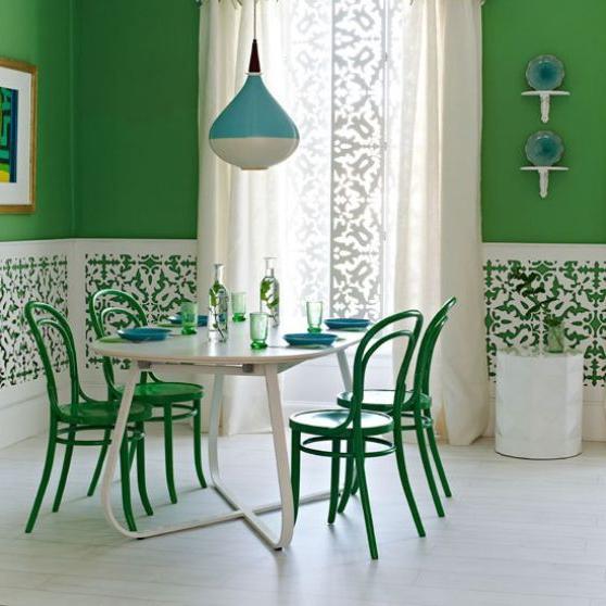 Хитрощі домашнього затишку: який колір поєднується із зеленим?