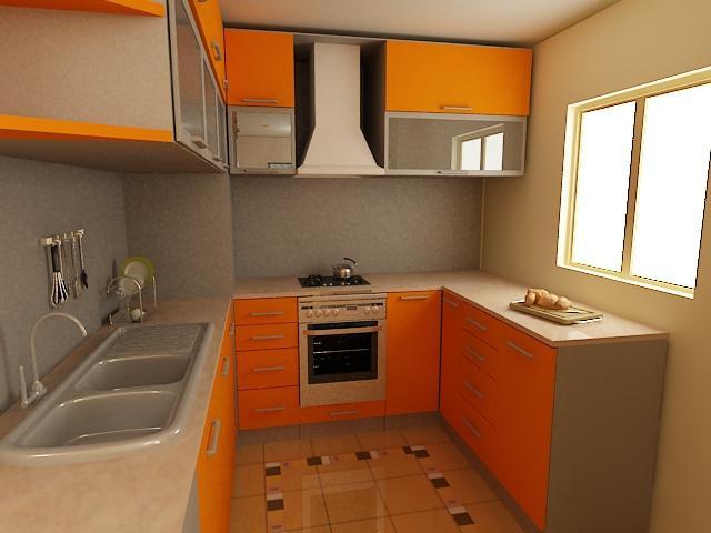Інтер`єри маленьких кухонь: якими вони можуть бути