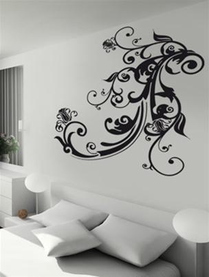 Офрмление стін у вітальні