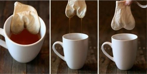Як і коли з`явився перший чайний пакетик