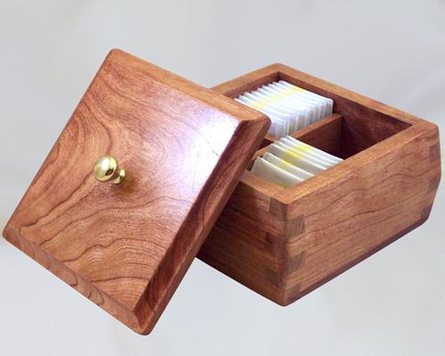 Коробка для чайних пакетиків