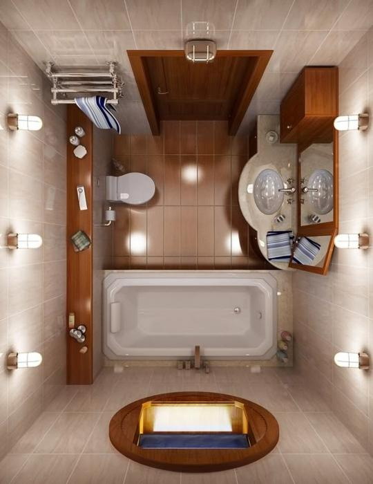 Як облаштувати інтер`єр маленьких ванних кімнат?