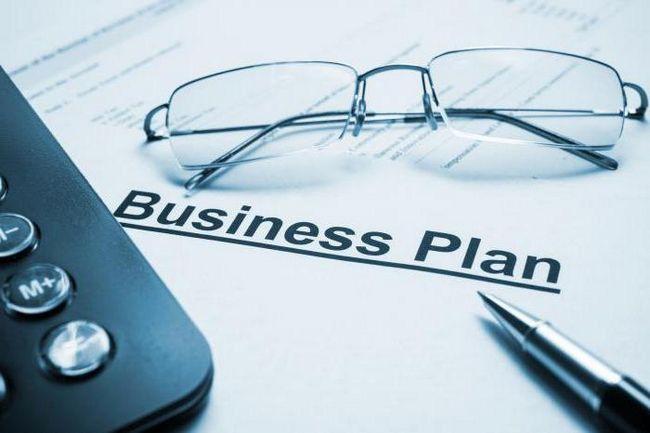 Титульний аркуш бізнес-плану