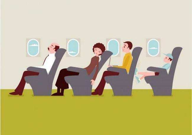 Як пережити дуже тривалий авіапереліт?