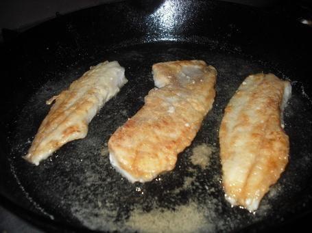 як посмажити філе риби