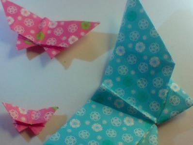 метелики з паперу шаблони