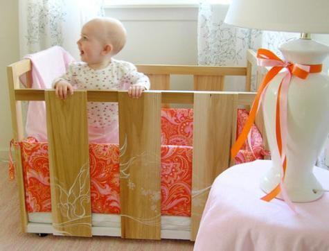 бортики в дитяче ліжечко своїми руками