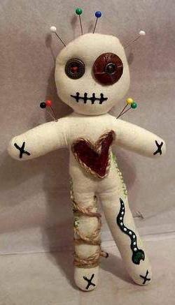 як зробити ляльку вуду своїми руками