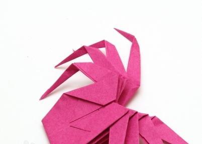 як зробити з паперу павука