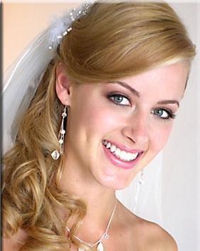 весільний макіяж і зачіска