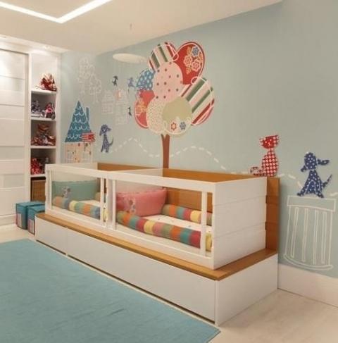 Як створити затишний інтер`єр дитячої кімнати для дівчаток