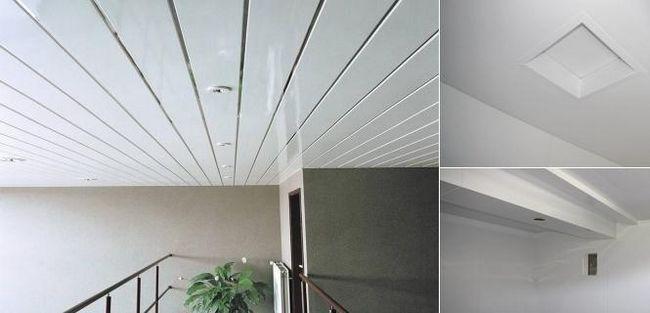 Як встановити стелі з пластикових панелей правильно?