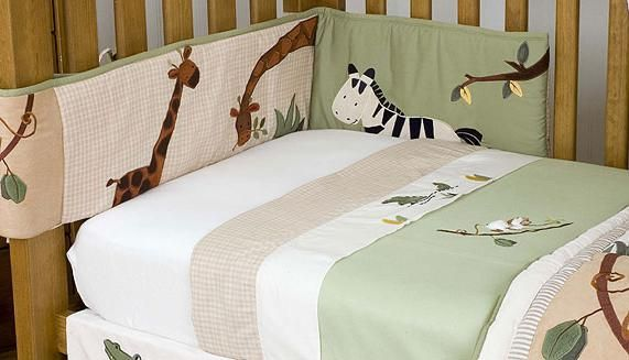 Зшити бампер в дитяче ліжечко