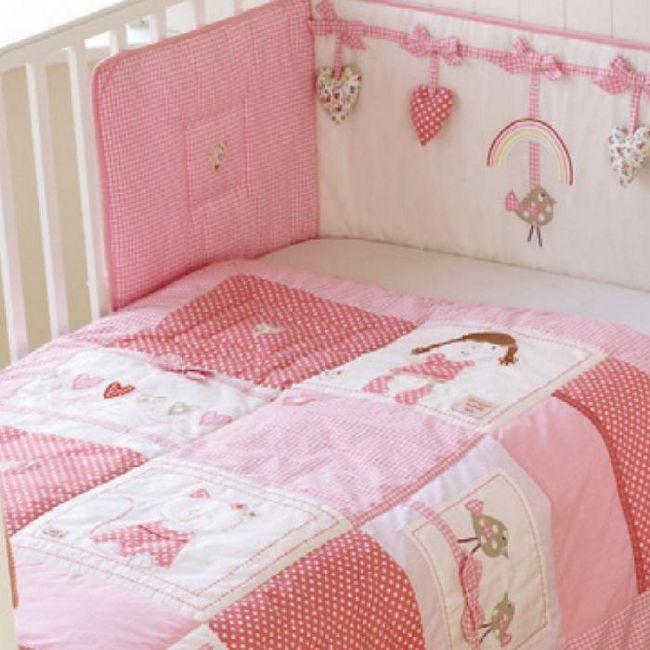 Бампер в дитяче ліжечко