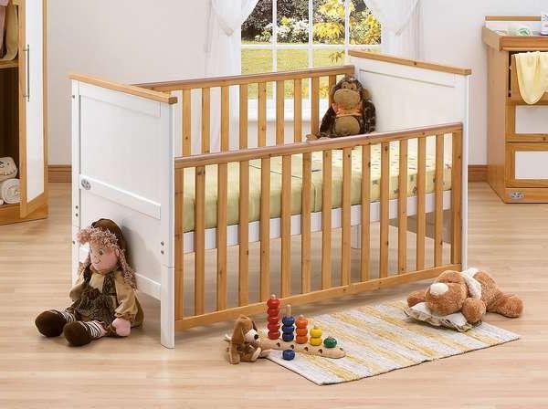 Як вибрати дитяче ліжечко для малюка?