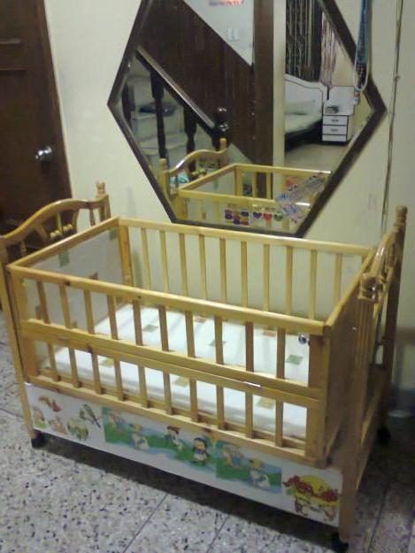 габарити дитячого ліжечка