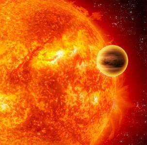 Яка планета ближче до сонця, або крила на сандалях