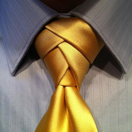 Яким повинен бути вузол для краватки?
