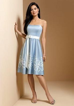 плаття середньої довжини на весілля
