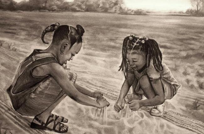 Картина з піску творить чудеса
