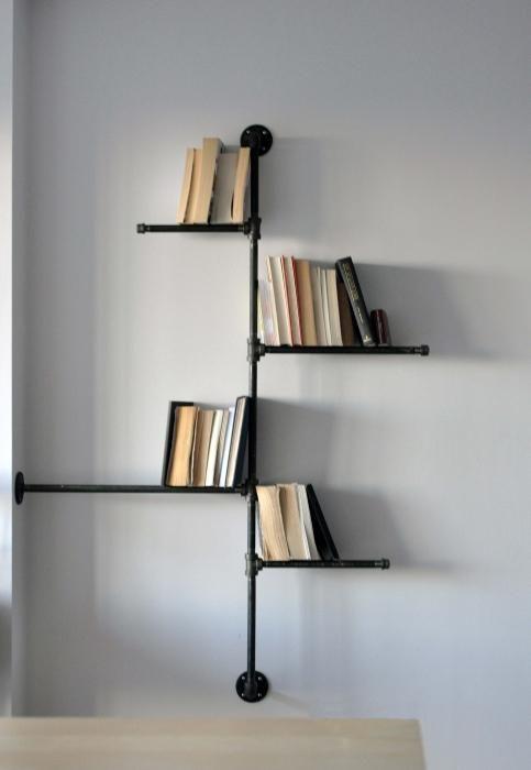 книжкові полиці навісні своїми руками