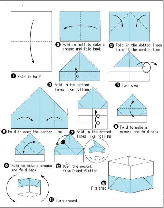 коробка орігамі