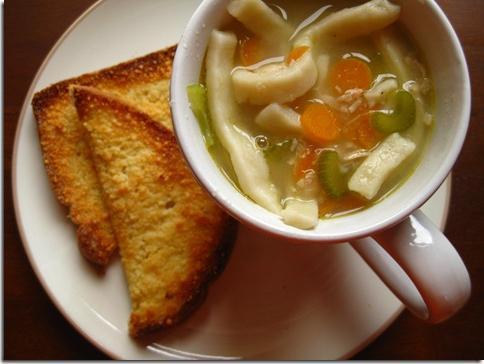 Суп локшина домашня з куркою