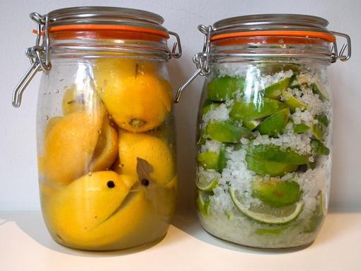 консервовані солоні лимони