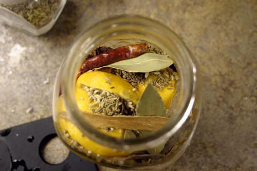 солоні лимони рецепт