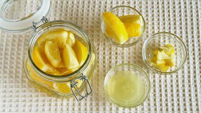 солоні лимони застосування
