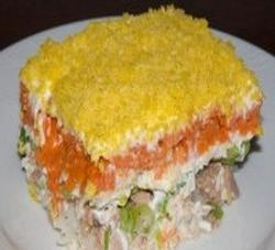 Улюблені домашні страви: салат «мімоза» з сайра
