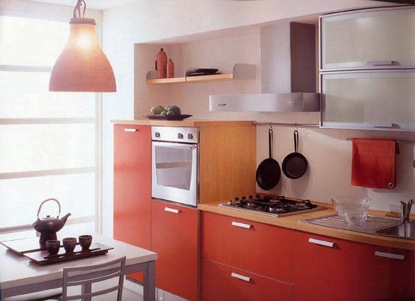 Краща планування маленької кухні